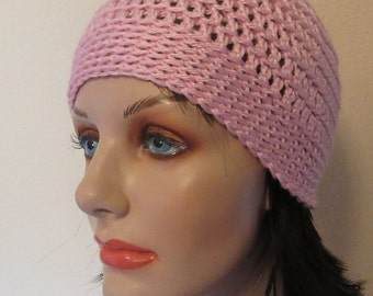 Pink Crochet Beanie, Cold Winter Accessory, Pink Beanie, Think Pink, Skiing, Ice Skating, Snow Playing, Pink Snow Hat, Hockey Mom