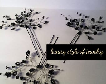 Hairpin / hair ornaments ( luxury style of jewelry )