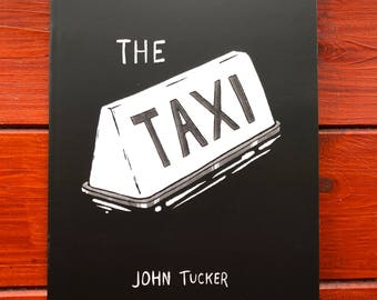 "John Tucker's ""The Taxi"" (2017) - Indie Horror Comic"