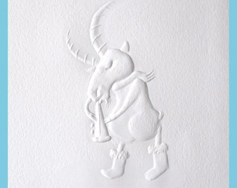Clarinet - Bremen Goats engraving