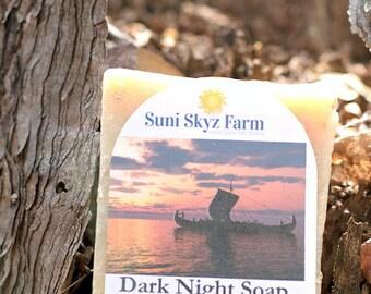 Men's Goat Milk Soap - Dark Night Soap - Men's Amber Soap - Men's Spicy Berry Soap - Men's Lavender Citrus Soap - Men's Citrus Soap