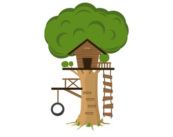 Kids Tree Decals Tree House Decal