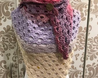 Pastel shawl
