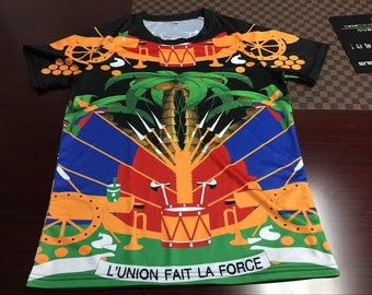 Haiti Parfais T-Shirt for the Haitian flag day