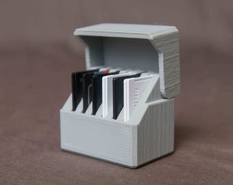 SD Card Holder Holds 6 Cards 3D printed