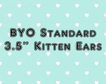 """BYO 3.5"""" Cat/Shibi Ears"""