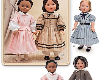 Simplicity 1391- Sewing pattern for 18 Inch Doll Clothes- Fits American Girl Dolls-
