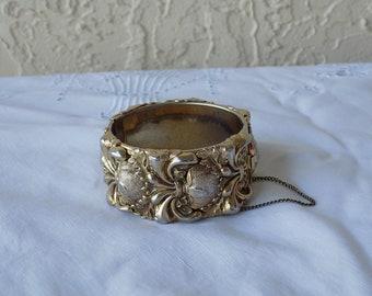 SALE - Vintage Whiting & Davis Cuff Bracelet