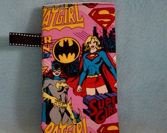 Glasses/Sunglasses Case with Super Heroes