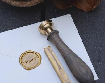 Gold sealing wax bar