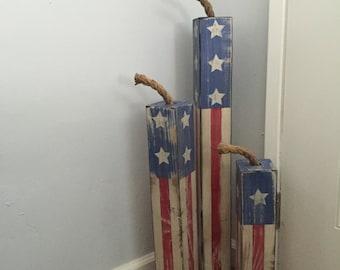 Large Patriotic Fireworks