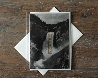 Eureka // Exclandscape Greeting Card