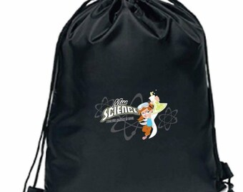 Miss Science String Backpack