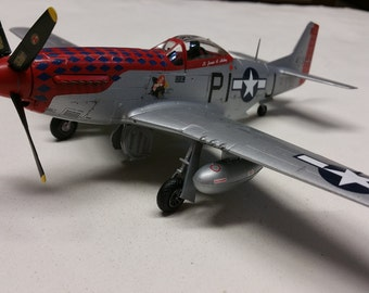 "P-51D Mustang -""Lullaby for a Dream""  1/48 scale- Built Plastic Scale Model"