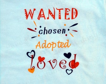 ADOPTED Toddler/ Youth T-shirt