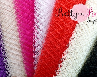 Russian Veiling 1 Yard...You Choose Color...Bird Cage Veiling...Netting...Veil...DIY Headbands...French Netting