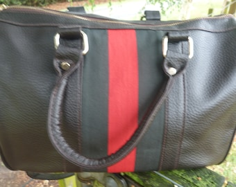 Large vintage tote Delsey label, great condition 1990's.