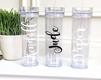 Personalized Tumbler, Bridesmaid Tumbler, Bridesmaid Gift, Team Gift, Monogram Tumbler, Personalized Tumbler, Personalized Cup, Gift
