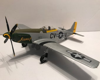 P-51K Mustang -359th Fighter Group- 1/32 scale- Built Plastic Scale Model