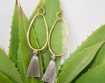 Drop dangle earrings, Gold dangle earrings,  Dangle earrings, Drop earrings, Gold earrings, Gold tear drop earrings,