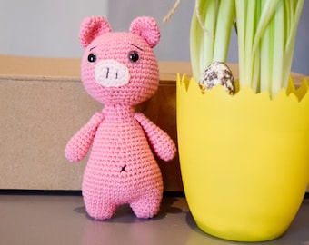 Crochet Pinky Pig