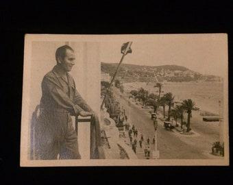 Very nice World War II British soldier postcard ?Malta?