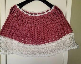 Crochet Poncho/Cape