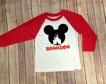 Magic Kingdom Shirt, Disney Shirt, Mickey Inspired, Disney Shirt for Boys, Disney Family Shirts, Mickey Shirt, Boys Mickey Shirt