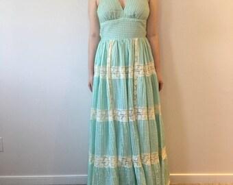 Vintage Saks Fifth Avenue Halter Dress