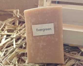 Evergreen Scent Homemade Goat Milk Soap