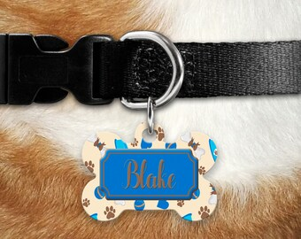 Dog ID Tag - Dog Name Tag - Custom Dog Tag - Dog Collar Tag - Pet ID Tag Dog - Custom ID Dog Tag - Personalized Dog Tag - Custom Pet Tags