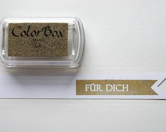 Gold - Pigment Inkpad