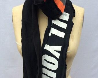 winter scarf, warm scarf, fleece scarf