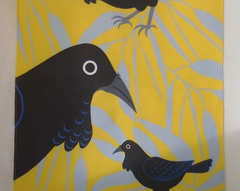 Ravens Australian Tea Towel