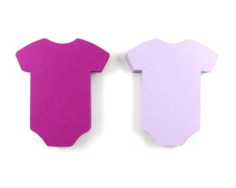 Baby Onesie Paper Cut Outs set of 25