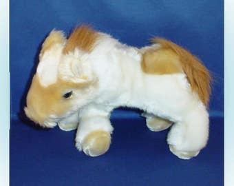 Plush Horse Stuffed Animal 1990s.