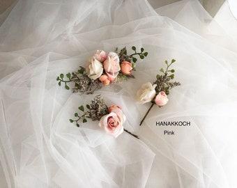 Rose Hair Clip / Rose Hair Pin / Wedding Hair Clip / Wedding Hair Pin / Wedding Accessories / Rose Flower / Hair Accessories