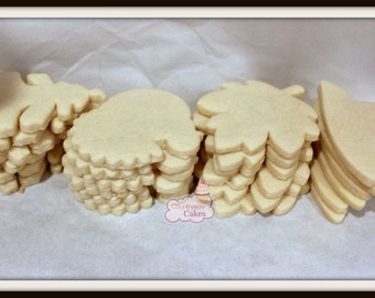 Decorate your own undecorated sugar cookies-1 dozen Choose your own shapes!