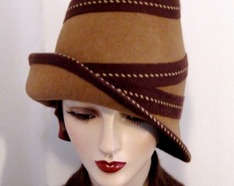 Spiraled Beehive Hat