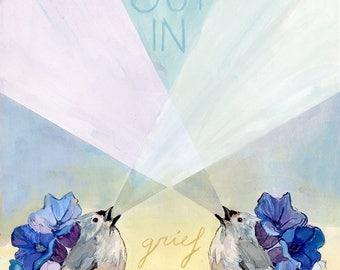 Sing Out Print — Abacus Corvus