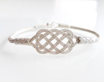 Bracelet Silver II Braided 925