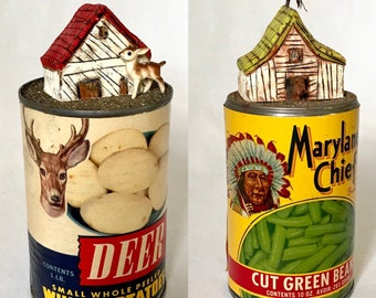 Deer and Chief Retro - USA - OOAK