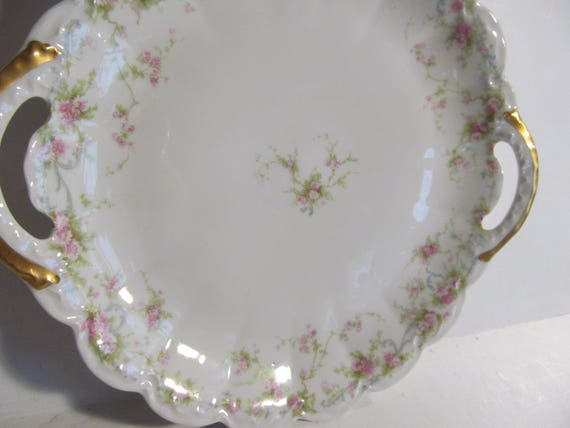 & Limoges Cake Plate Theodore Haviland Limoges Plates French