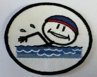 Iron-On Patch - SWIMMER