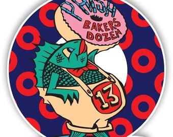 Phish Inspired Baker's Dozen Decals