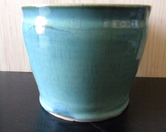 Sea Green Porcelain Amphora