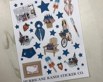 4th of July Picnic Clipart