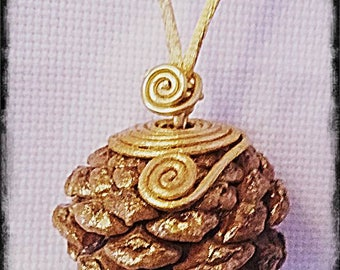 PINEAPPLE WICCA AMULET