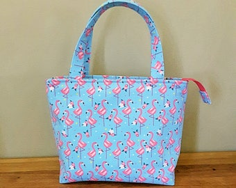 Flamingo - Insulated Lunch Bag Large