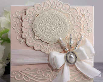 Paper daisy cards paper quilling golden wedding card